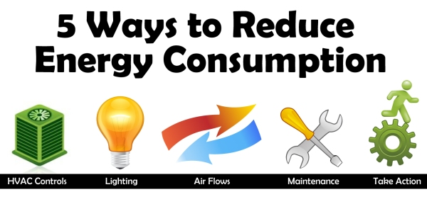 5 Ways To Reduce Energy Consumption In Commercial